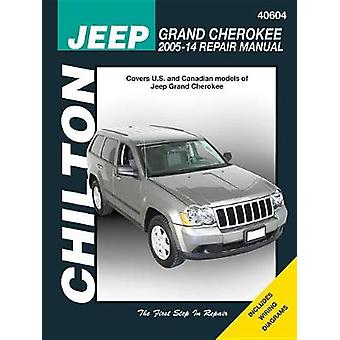 Jeep Grand Cherokee Chilton Automotive Repair Manual 05-14 by Anon -