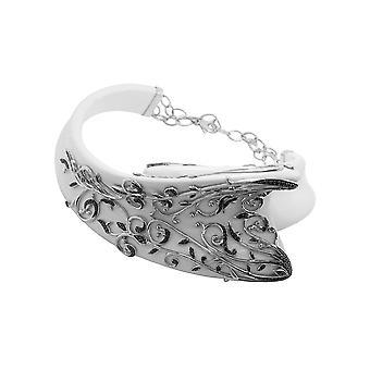 Belle Etoile White Anastacia collar 05060910202