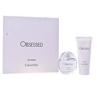 Calvin Klein obsesję na punkcie kobiet prezent zestaw 50ml EDP + balsam do ciała 100ml