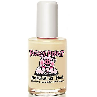 Piggy Paint Kid-Friendly Nail Polish - Radioactive GLOWS IN THE DARK! (128) 15ml