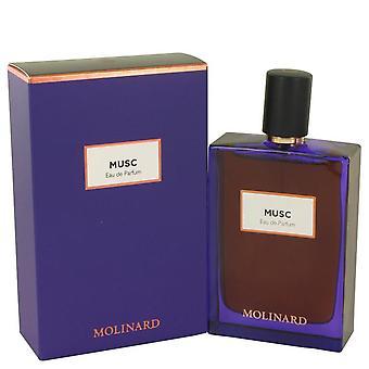 Molinard musc eau de parfum spray (unisex) av molinard 537175 75 ml