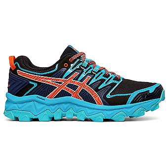 Asics Donne Signore FUJITRABUCO BUCO 7 Low Top Sports Scarpe Sneakers Pizzo Up