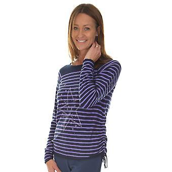 LEBEK Lebek Indigo Lilac Sweater 35520019
