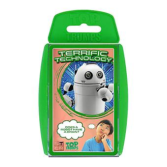 Top Trumps STEM Terrific Tech Jeu de Cartes
