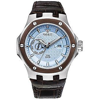 V.O.S.T. Germany V 100.020 Blue Multifunction men's Watch 44mm