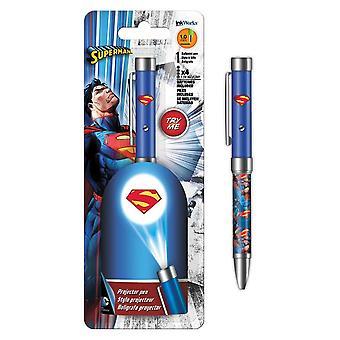 Superman Projektor Stift