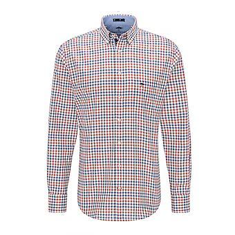 Fynch-Hatton Fynch Hatton Maritime Long Sleeve Shirt Colourful Check