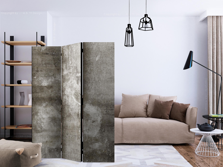 Paravent 3 volets - Cold Concrete [Room Dividers]