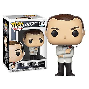 James Bond Sean Connery (witte Tux) pop! Vinyl