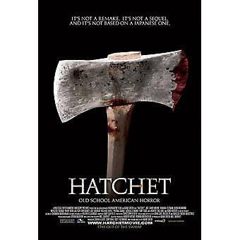 Hatchet (yksipuolinen Regular) (2006) alkuperäinen elokuva juliste