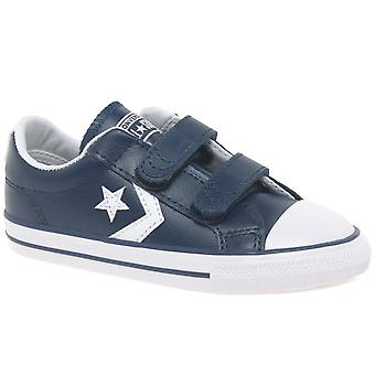 Converse Star Player Infant 2V Boys Shoes