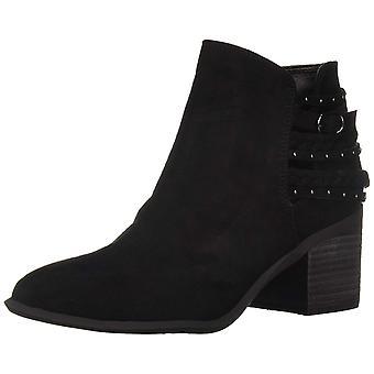 Carlos by Carlos Santana Women's Ashby Ankle Boot, Black, 9.5 Medium US