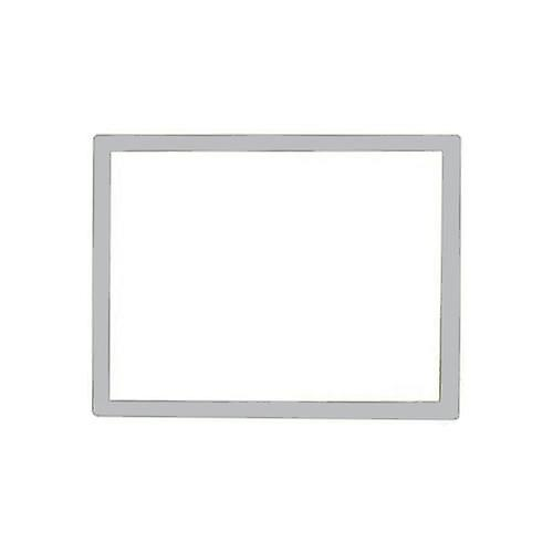 Replacement screen lens plastic cover for nintendo ds lite [ndsl] - silver