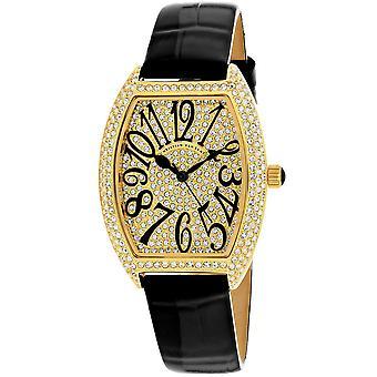 Christian Van Sant Frauen's Elegante Gold Ton Zifferblatt Uhr - CV4820