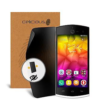 Celicious Privacy 2-Way Anti-Spy Filter Screen Protector Film Compatible with BLU Selfie