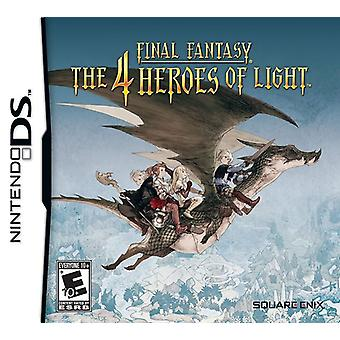 Final Fantasy The 4 Heroes of Light Nintendo DS Game