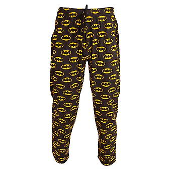 Batman Mens Logo Lounge Bottoms