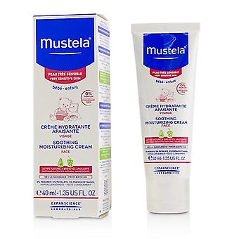 Mustela Soothing Moisturizing Cream For Face - For Very Sensitive Skin - 40ml/1.35oz
