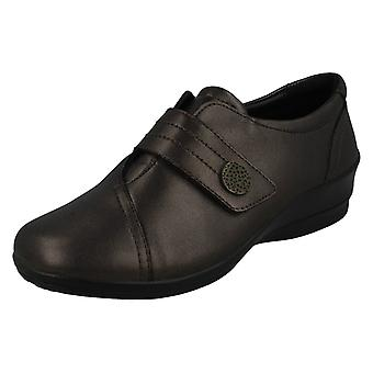 Ladies Padders Casual Hook & Loop Scarpe Simone3