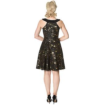 Banned Dancing Days Women's 1950's Galaxy Out of This World Dress