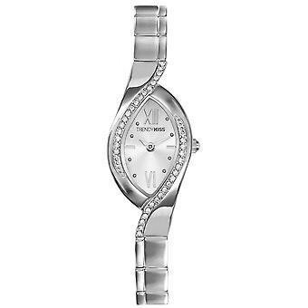 Watch Trendy Kiss TM3747-03 - woman oval steel gray