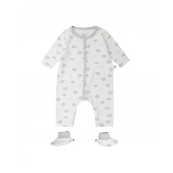 Absorba Cloud Print Babygrow