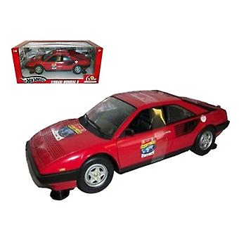 Ferrari Mondial 8 60Th Anniversary Red 1/18 Diecast Model Car By Hotwheels