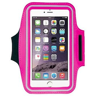 For iPhone 8PLUS/7PLUS/6PLUS,Galaxy S9/S9+ Armband Sports Ultra-thin,Magenta