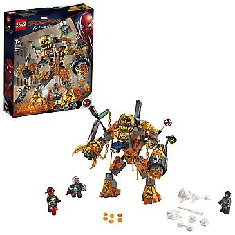 LEGO 76128 Marvel Spider-Man Smält Man Battle Building Set