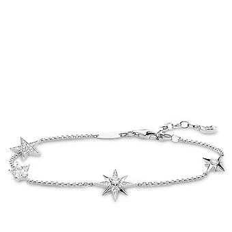 Thomas Sabo White Magic Stars Multiple Star Bracelet A1916-051-14