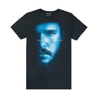 Game Of Thrones Jon Snow Winter Is Here Men-apos;s T-Shirt