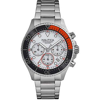 Nautica Watch NAPWPC005 - Plated Stainless Steel Gents Quartz Chronograph