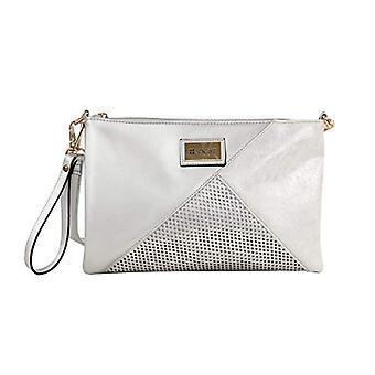 Bluebags FORTIME - Bolso Fashion Zarf Plateado Handbags Woman Silver (Plata)