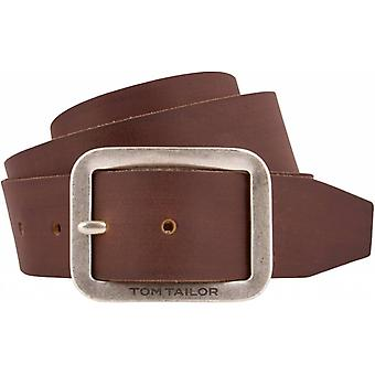 Tough Brown Leather Belt