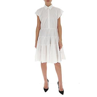 See By Chloé Chs20uro21020101 Women's White Cotton Dress