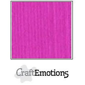 CraftEmotions linen cardboard 10 Sh coral Magenta 30,0x30,0cm / LC-53