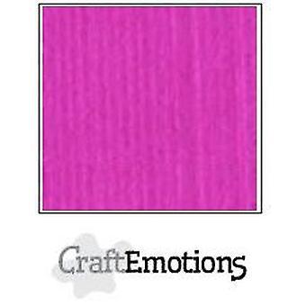 CraftEmotions linnen karton 10 Sh koraal Magenta 30,0x30,0cm / LC-53