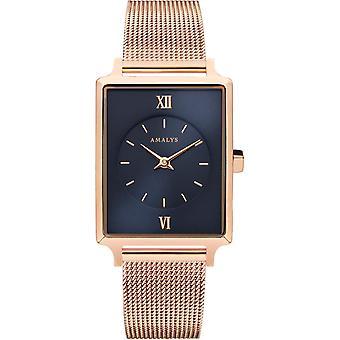 Titta på MARILYN Amalys - klocka stål ros kvinna