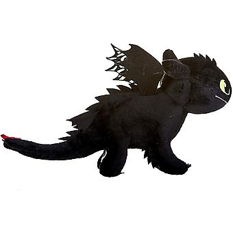 How To Train Your Dragon 3 Toothless Soft Toy Dark Features