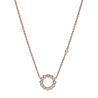 Fossil Women's Chain in Stainless Steel - Glass