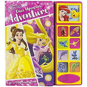 Disney Princess Lift A Flap Sound Book by P. I. Kids - 9781503731493