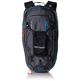 Ortovox Ascent 22 - Unisex-Adult Backpack - Black Anthracite - 24x36x455 (W x H x L)