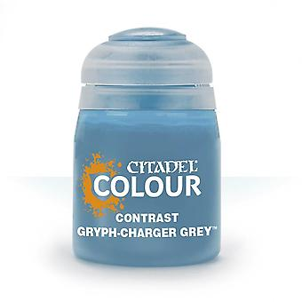 Contrast: Gryph-Charger Grey (18ml) ,Citadel Paint Contrast,Warhammer 40,000
