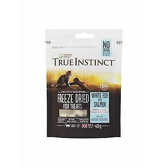 True Instinct Freeze Dried Fish And Salmon Cat Treats