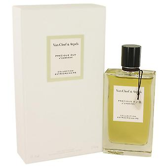 Precious Oud Eau De Parfum Spray (Unisex) By Van Cleef & Arpels 2.5 oz Eau De Parfum Spray