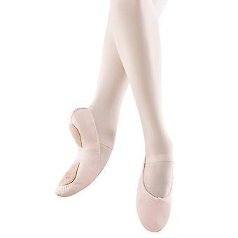 ブロッホ ダンス少女 Dansoft 分割ソール革バレエ スリッパ/靴