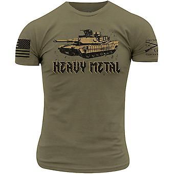 Grunt Style Heavy Metal T-Shirt - Military Green