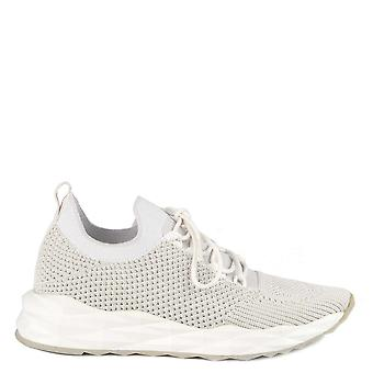 Ash Footwear Skate White And Marble Knit Trainers