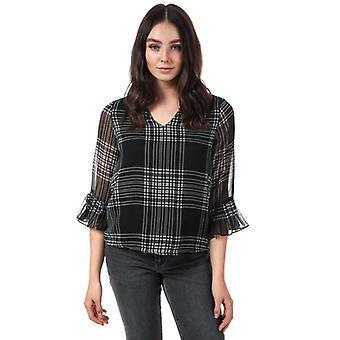 Femmes-apos;s Vero Moda Anja 3 Quarter Sleeve Top en noir