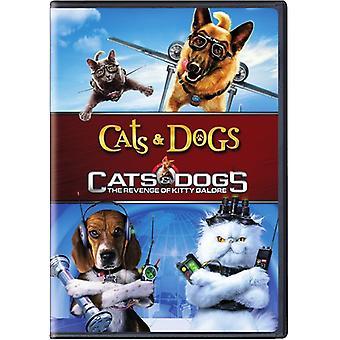 Importer des chats chiens & 1 & 2 [DVD] é.-u.